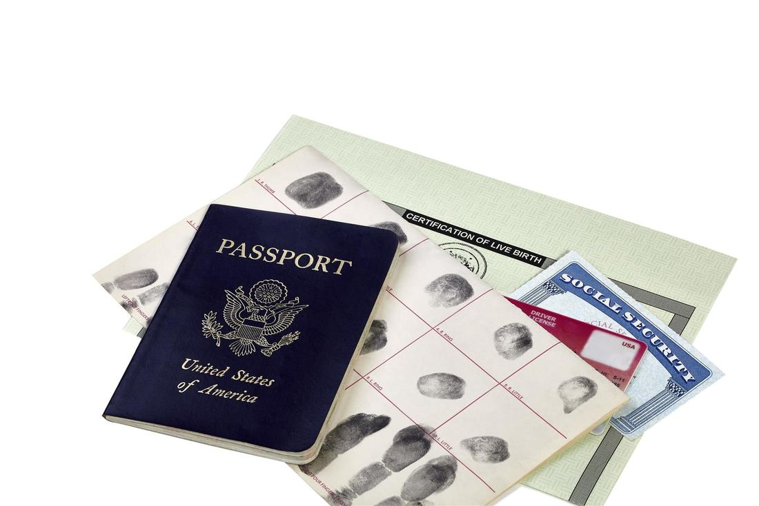 US passport and other travel documents